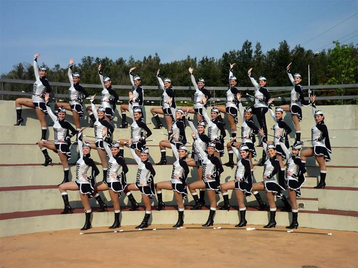 Dancing Majorettes Mentana