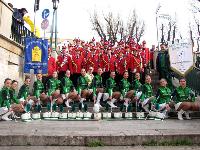 Associazione Musicale Gavignano Sabino e Majorettes Compatrum