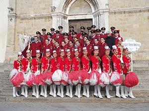 """BANDA MUSICALE CASTELNUOVO DI PORTO – MAJORETTES """"GOLDEN STARS SABINE"""""""