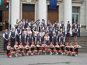 YOUTH BRASS BAND THE MAJORETTES DANCING GROUP SCHOOL OF JESENIK – REPUBBLICA CECA