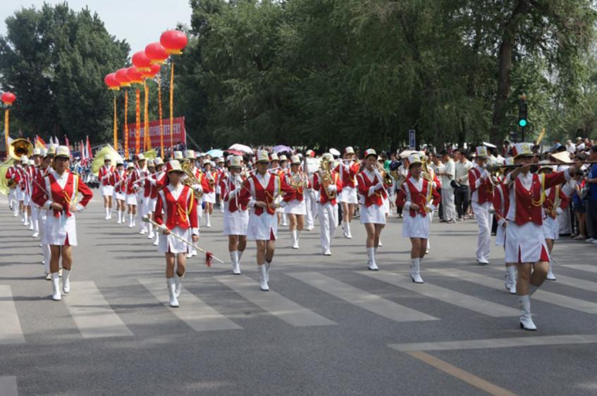 Hou Kong Secondary School Marching Band di Macao (Cina)