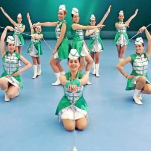 Majorettes Green Angels