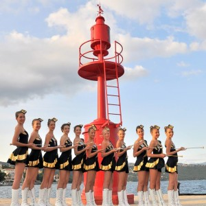 Majorettes Opatija and Brass Band