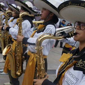 Aguiluchos Marching Band