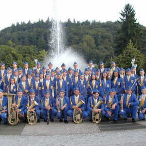 The Youth Brass Orchestra and Majorettes
