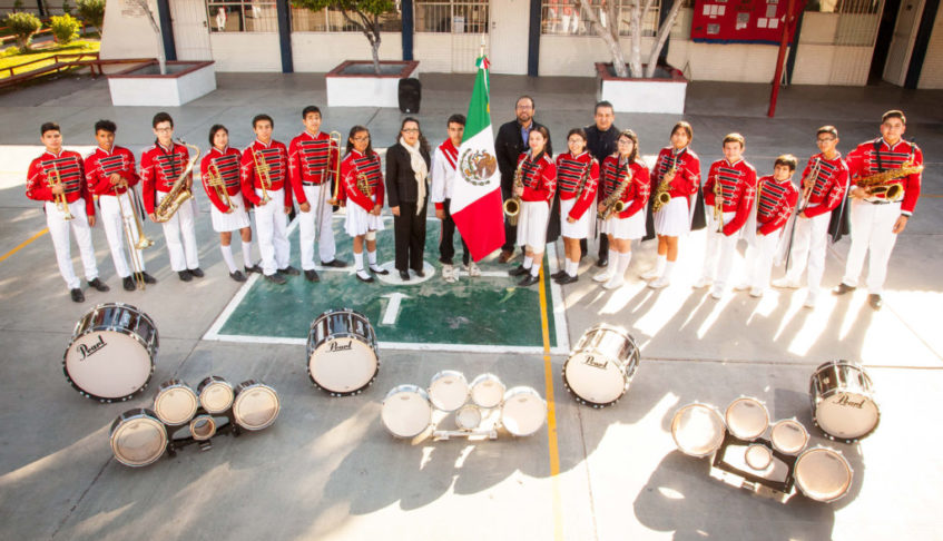 MESSICO – Banda de Música Secundaria # 50 Jose F. Guajardo