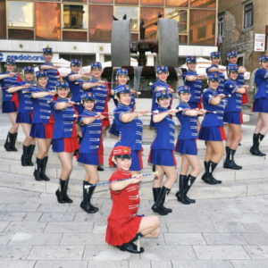 CROAZIA – The First Majorettes of Rijeka