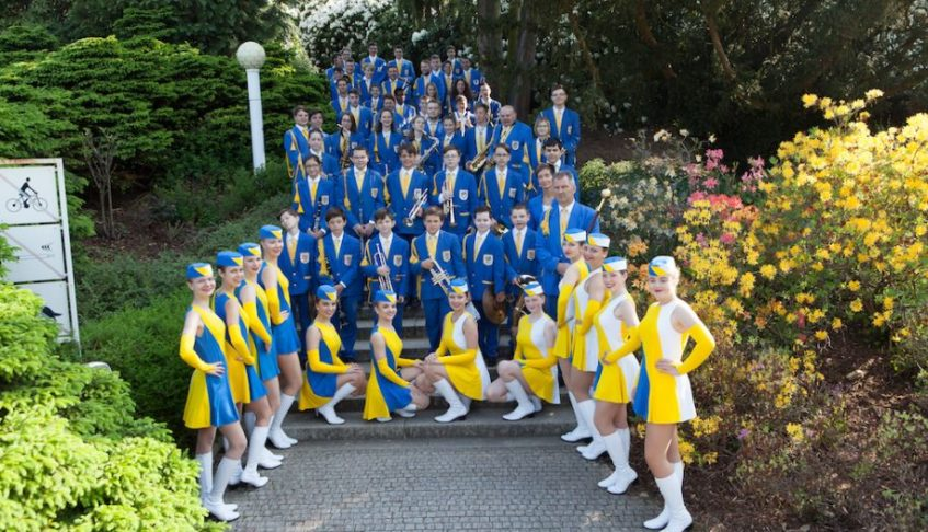 REPUBBLICA CECA – Dechový Orchestr Mladých a Mažoretky Mariánske Lázně di Mariánské Lázně